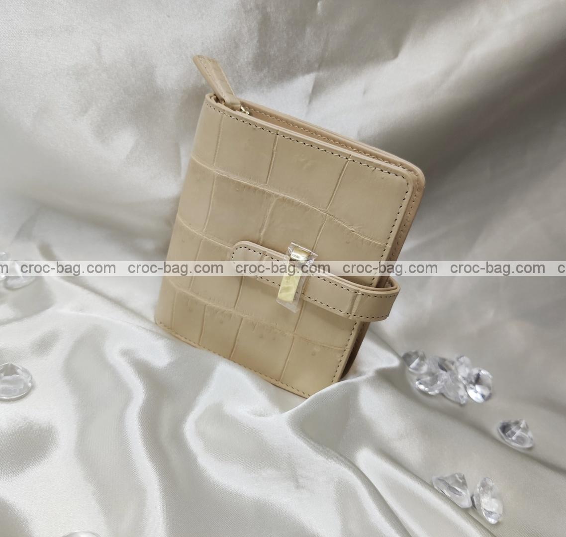 กระเป๋าหนังจระเข้สำหรับผู้หญิง 5343