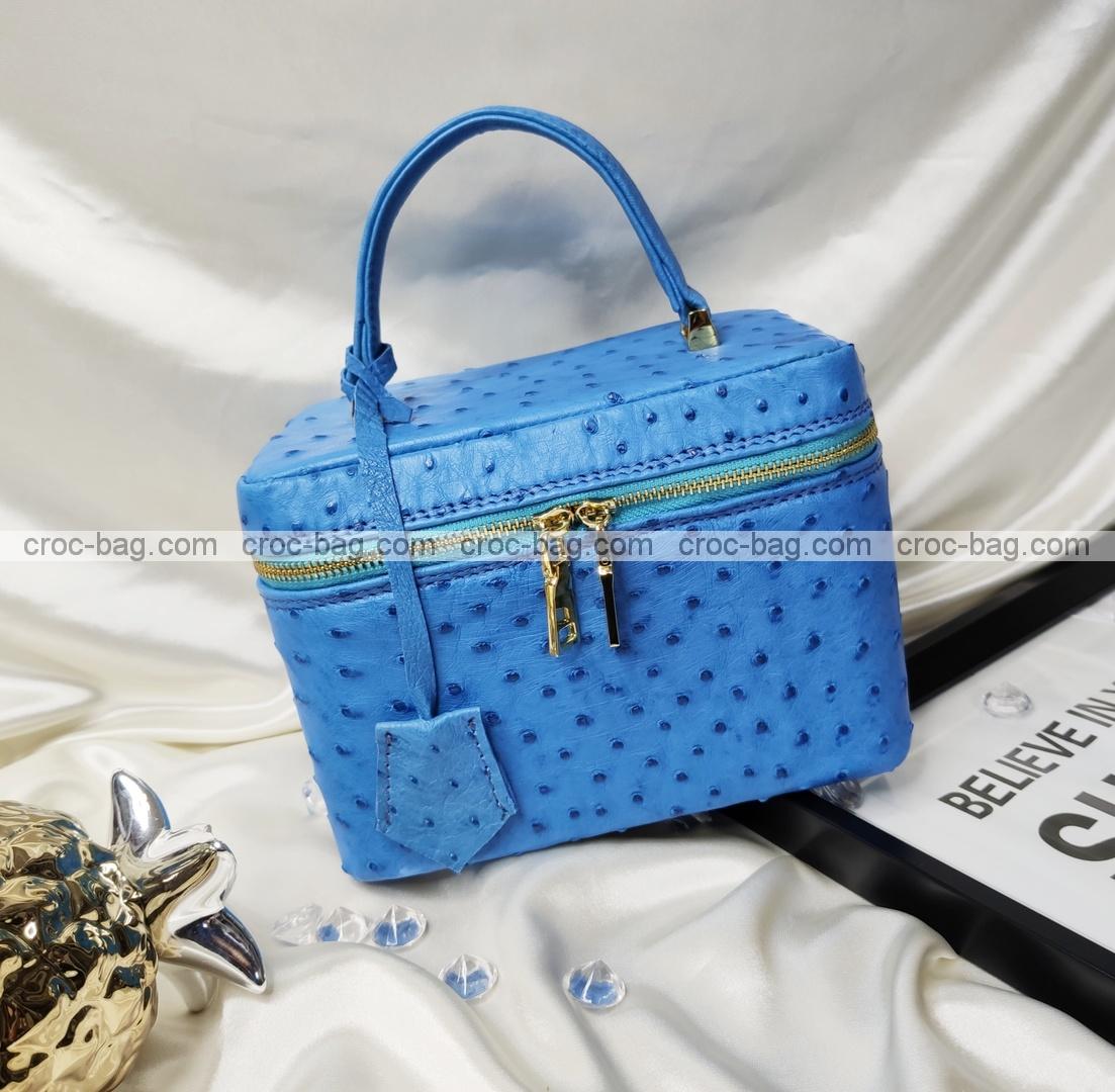 กระเป๋าหนังนกกระจอกเทศหรับผู้หญิง 5648
