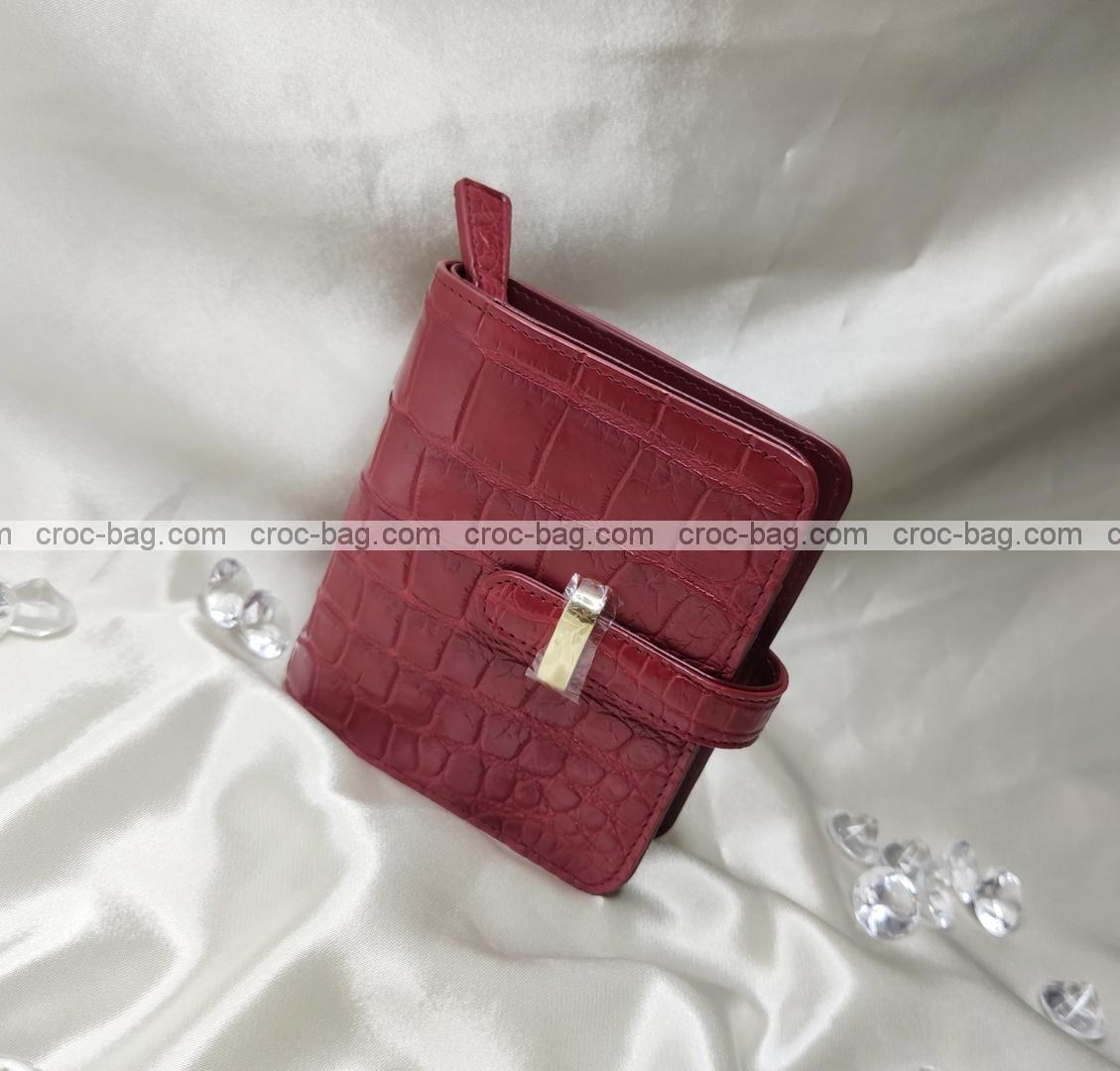กระเป๋าหนังจระเข้สำหรับผู้หญิง 5338