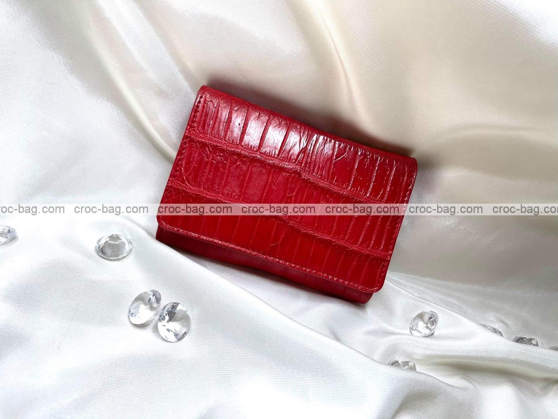 กระเป๋าหนังจระเข้สำหรับผู้หญิง 5349