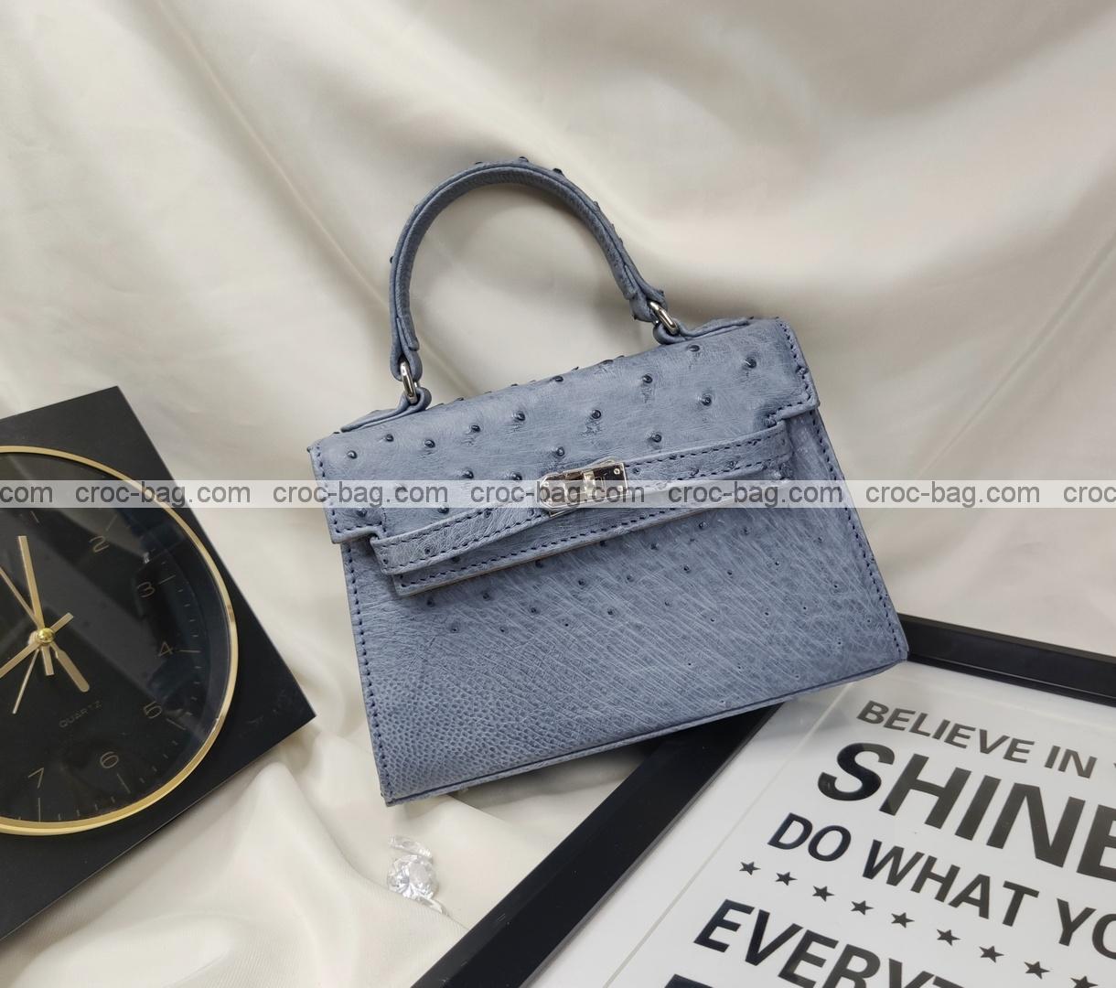 กระเป๋าหนังนกกระจอกเทศหรับผู้หญิง 5432
