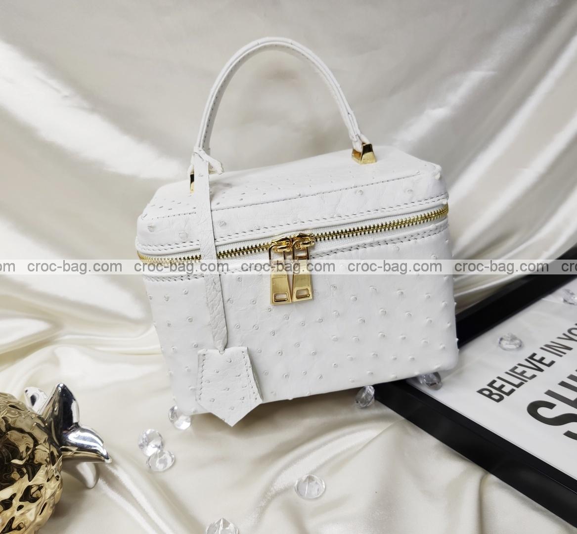 กระเป๋าหนังนกกระจอกเทศหรับผู้หญิง 5649