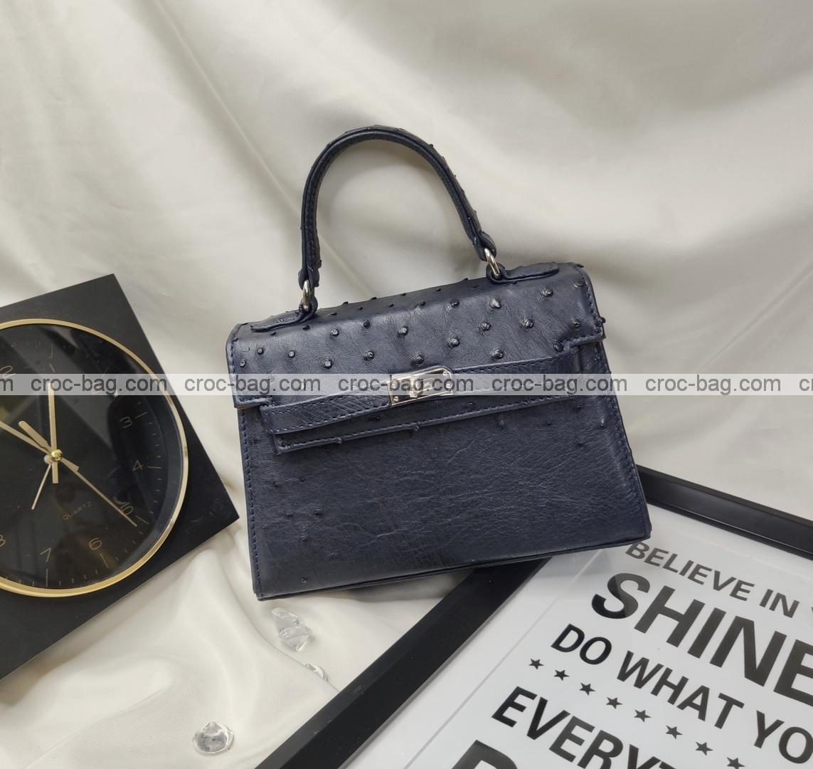 กระเป๋าหนังนกกระจอกเทศหรับผู้หญิง 5434