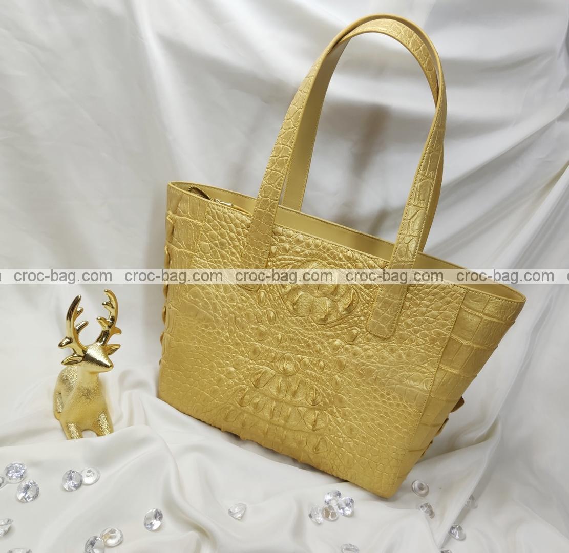 กระเป๋าหนังจระเข้สำหรับผู้หญิง 5428