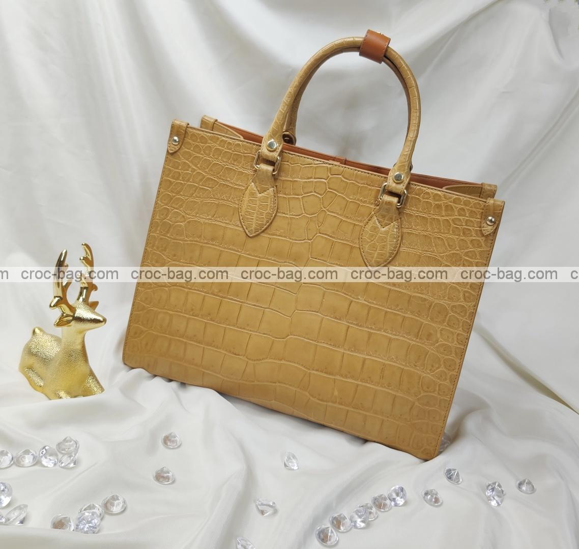 กระเป๋าหนังจระเข้สำหรับผู้หญิง 5429