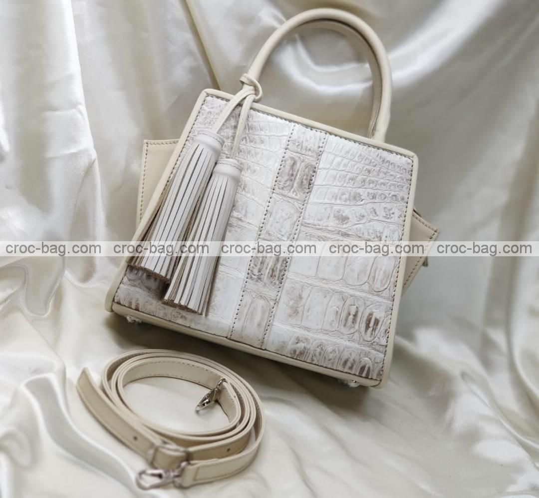 กระเป๋าหนังจระเข้สำหรับผู้หญิง 5457