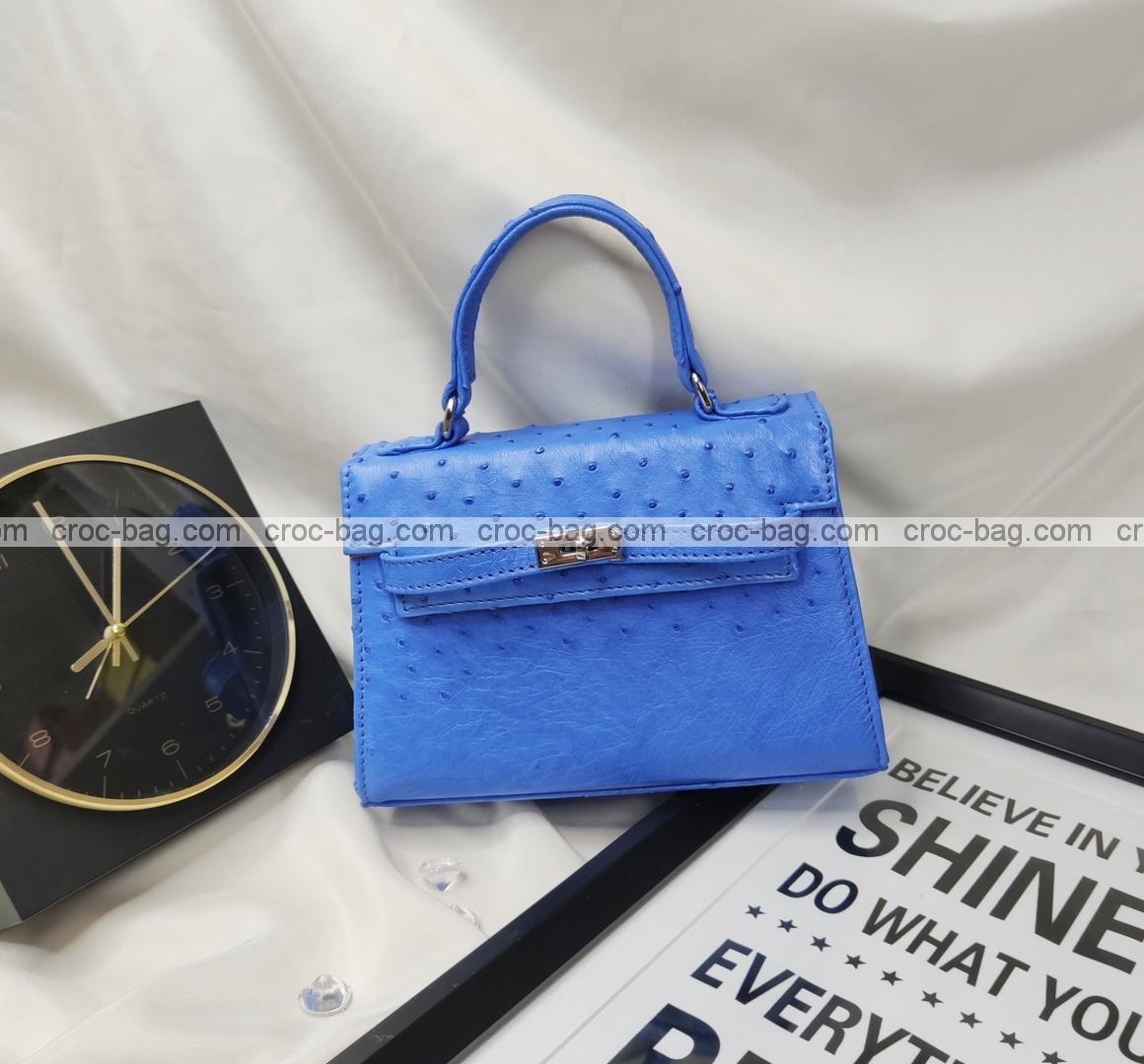 กระเป๋าหนังนกกระจอกเทศหรับผู้หญิง 5433