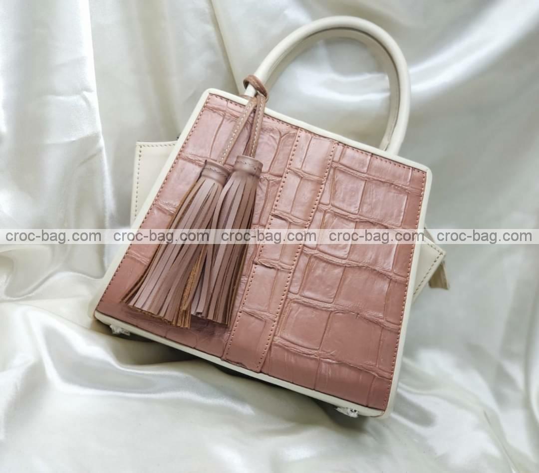 กระเป๋าหนังจระเข้สำหรับผู้หญิง 5459