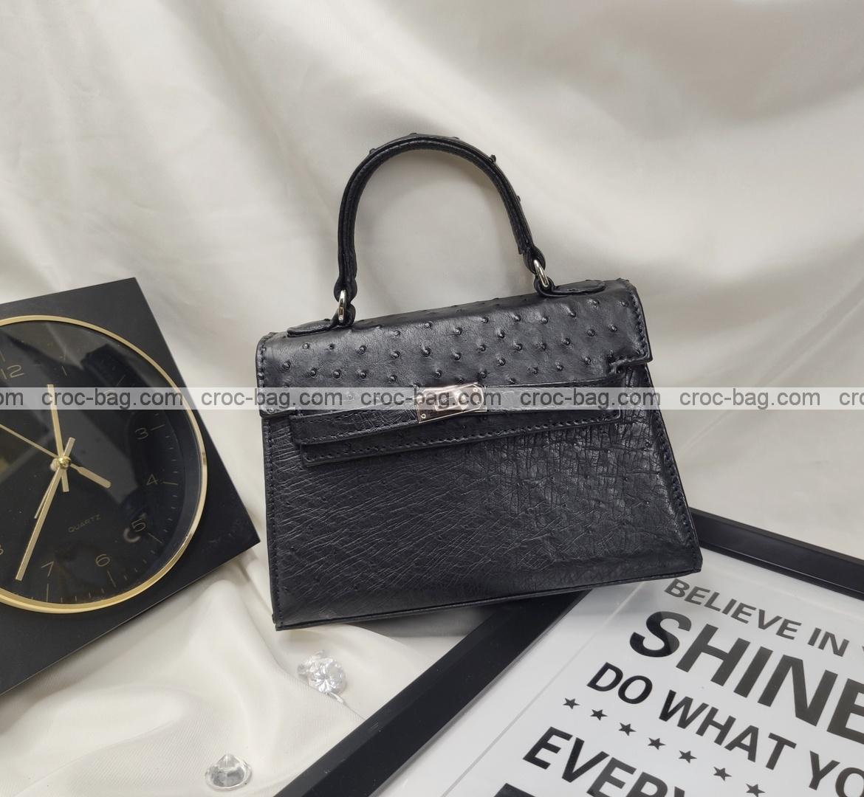 กระเป๋าหนังนกกระจอกเทศหรับผู้หญิง 5431