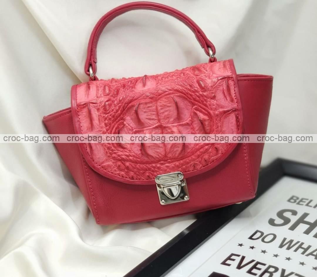 กระเป๋าหนังจระเข้สำหรับผู้หญิง 5462