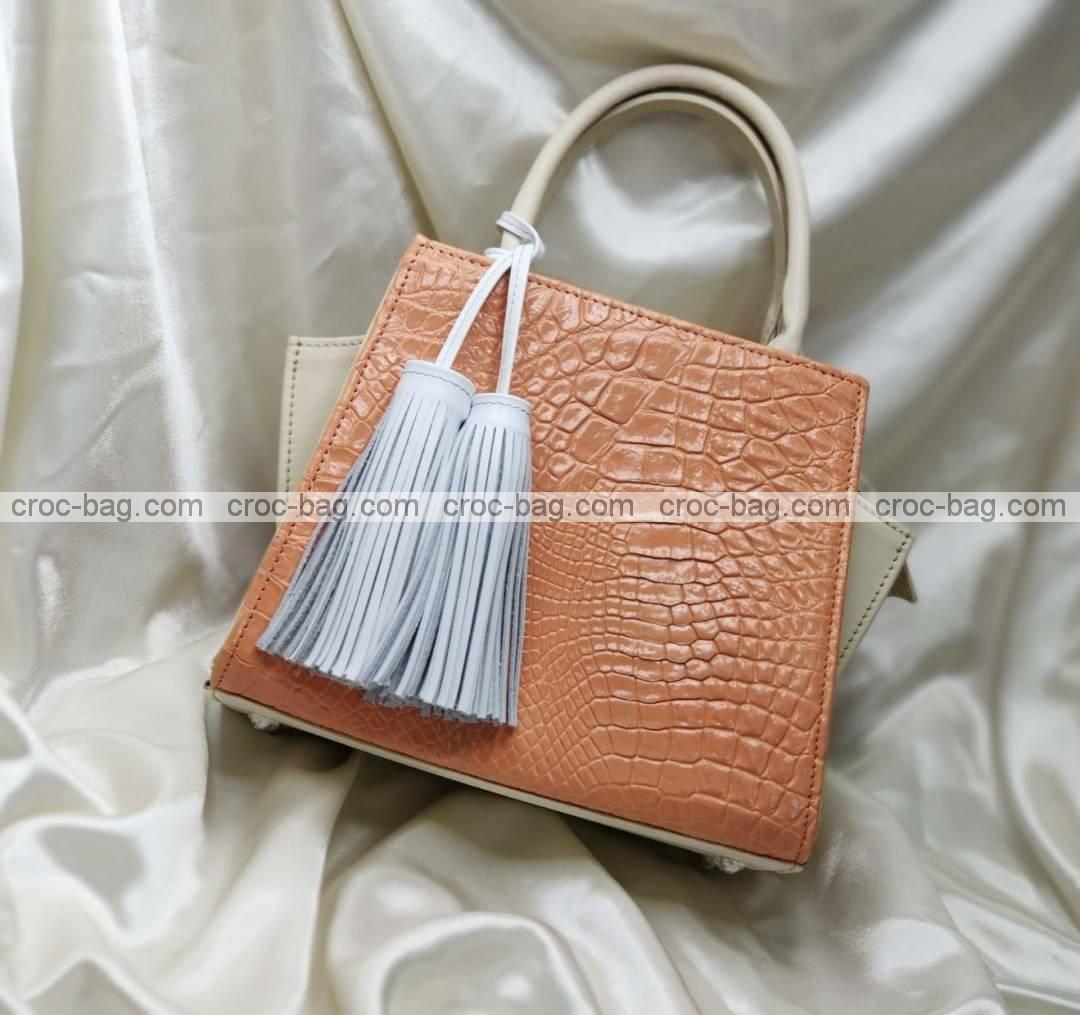 กระเป๋าหนังจระเข้สำหรับผู้หญิง 5456