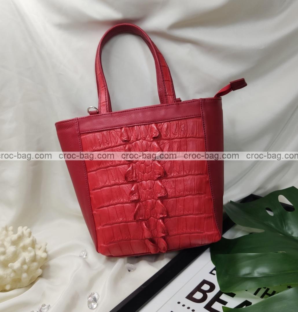 กระเป๋าหนังจระเข้สำหรับผู้หญิง 5451