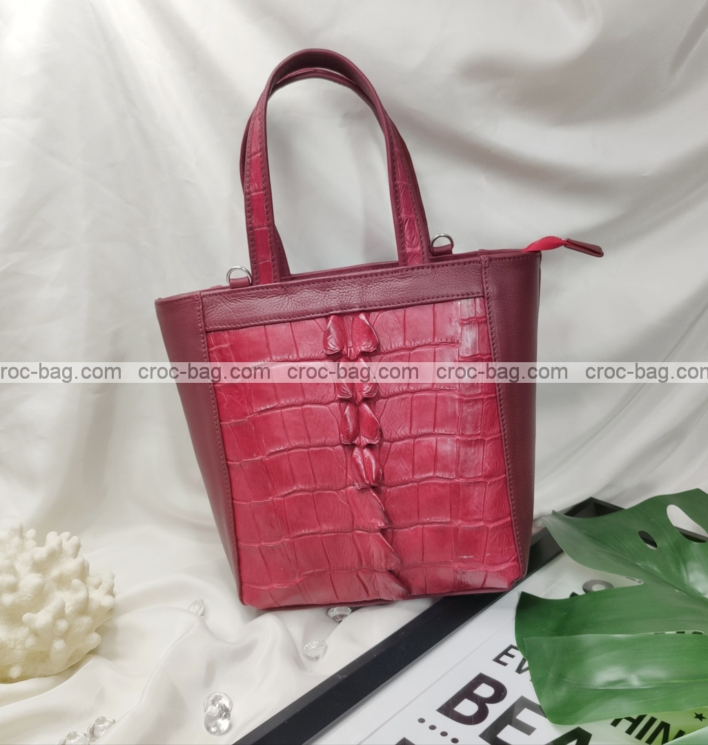กระเป๋าหนังจระเข้สำหรับผู้หญิง 5449