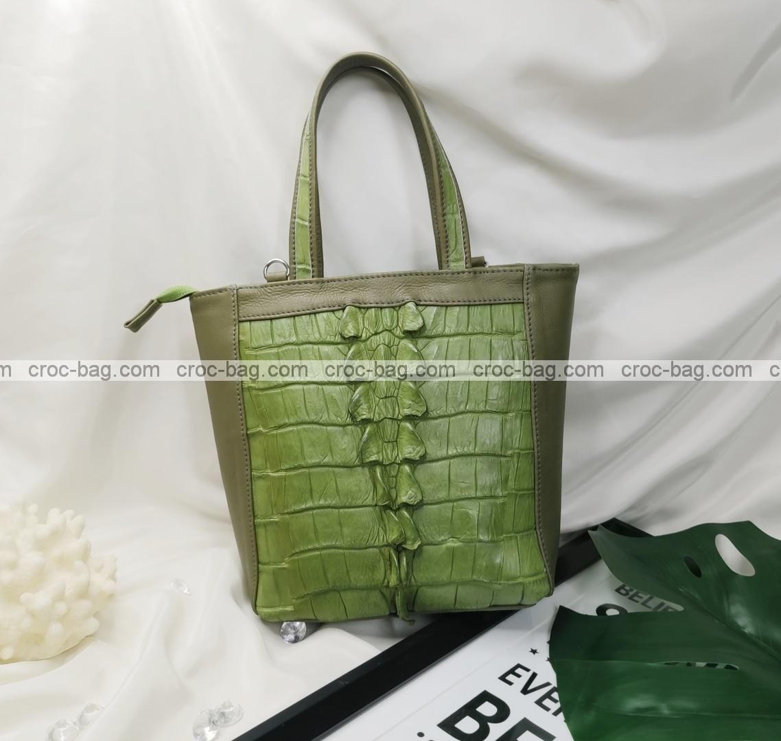 กระเป๋าหนังจระเข้สำหรับผู้หญิง 5447