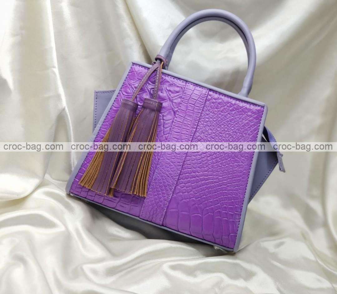กระเป๋าหนังจระเข้สำหรับผู้หญิง 5455