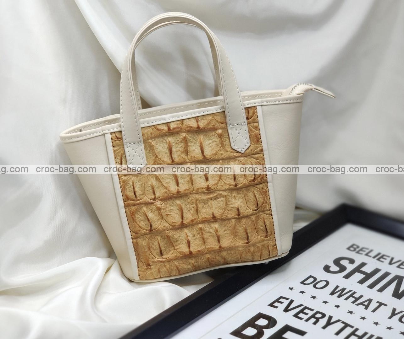 กระเป๋าหนังจระเข้สำหรับผู้หญิง 5468