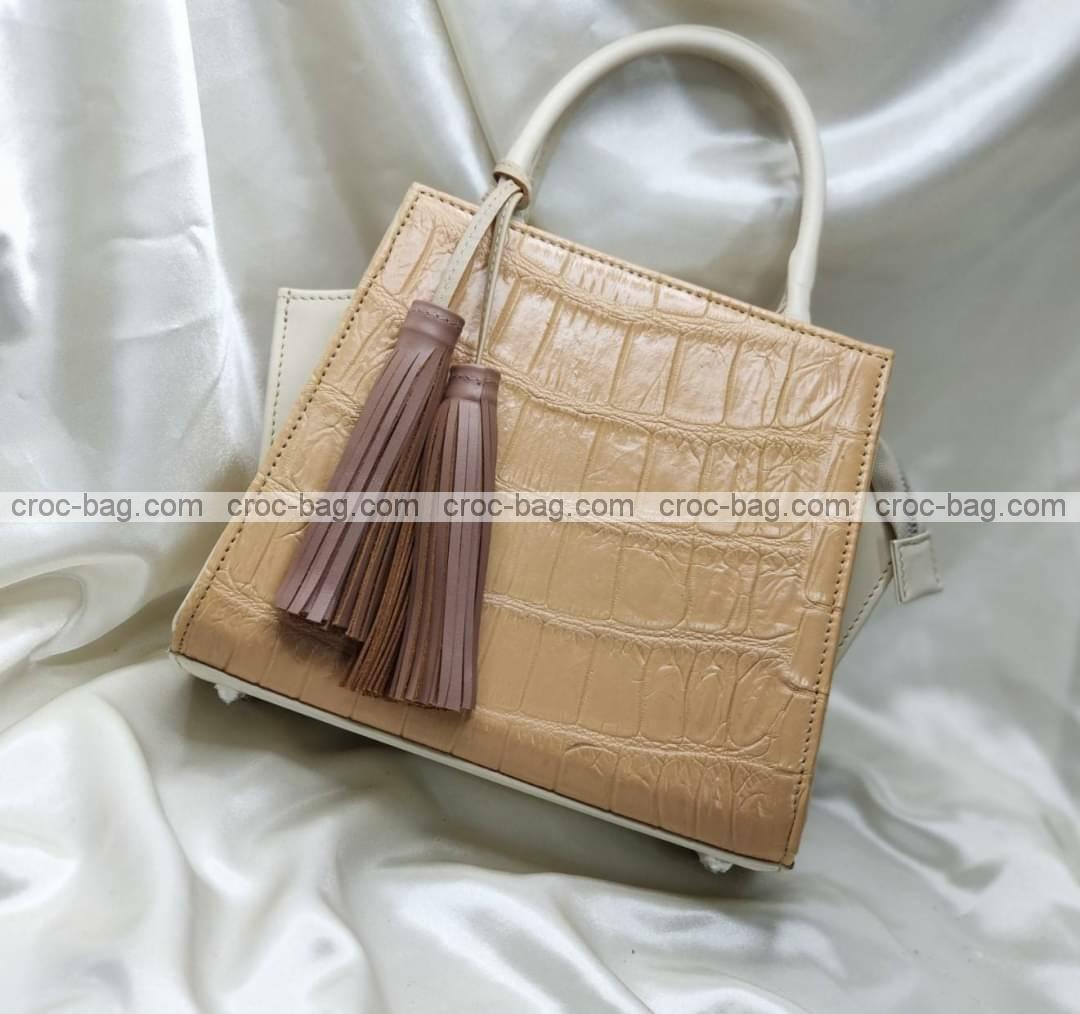 กระเป๋าหนังจระเข้สำหรับผู้หญิง 5458