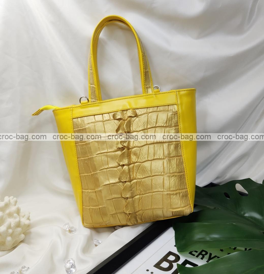 กระเป๋าหนังจระเข้สำหรับผู้หญิง 5444