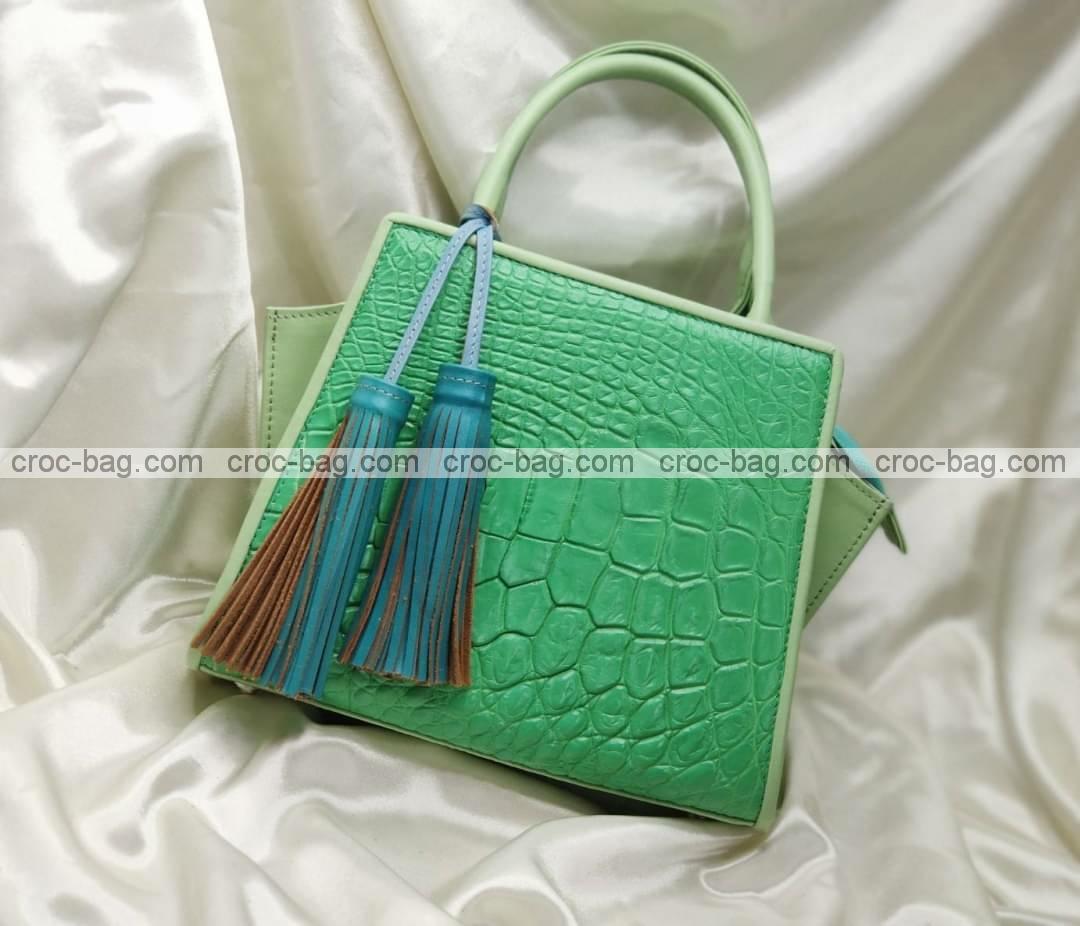 กระเป๋าหนังจระเข้สำหรับผู้หญิง 5453