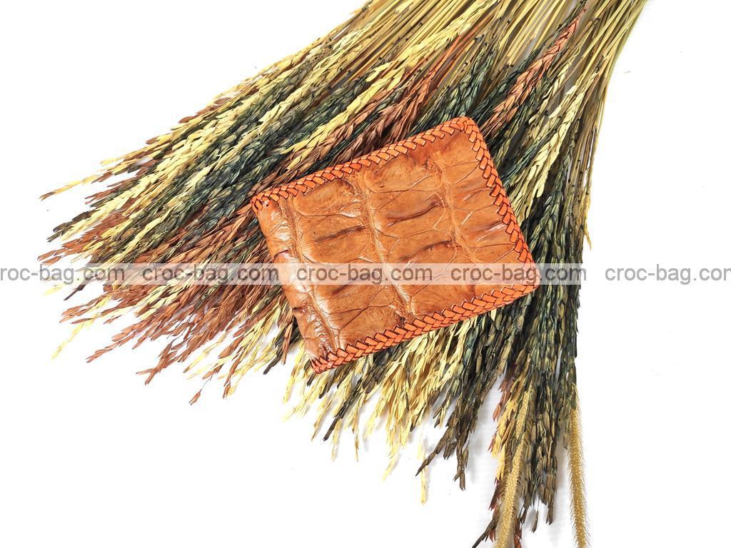 กระเป๋าสตางค์หนังจระเข้สำหรับผู้ชาย  3779