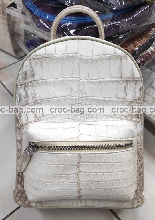 กระเป๋าเป้สะพายหนังจระเข้ 3875