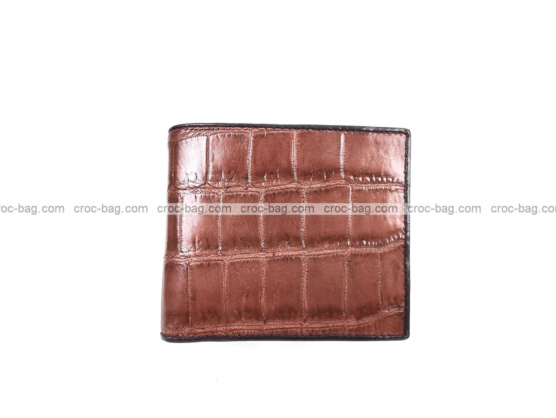 กระเป๋าสตางค์หนังจระเข้ 5086