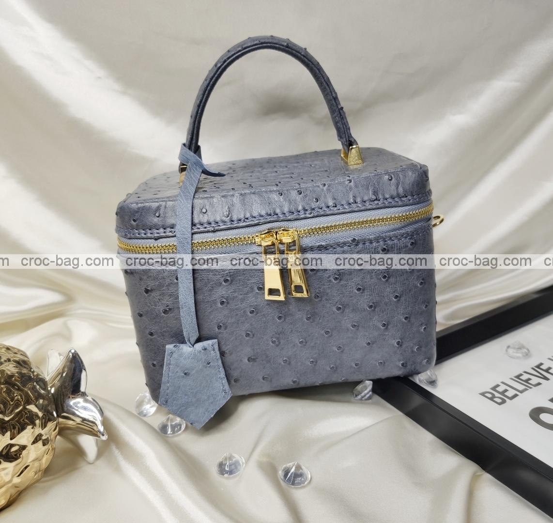กระเป๋าหนังนกกระจอกเทศหรับผู้หญิง 5647