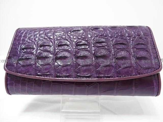 กระเป๋าสตางค์หนังจระเข้สำหรับคุณผู้หญิง 1361