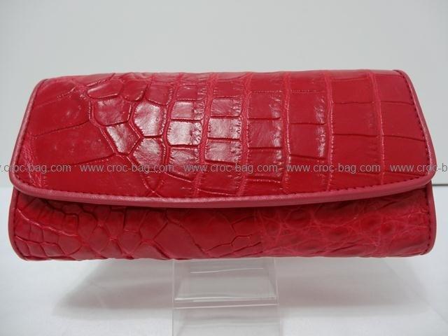 กระเป๋าสตางค์หนังจระเข้สำหรับคุณผู้หญิง 1358