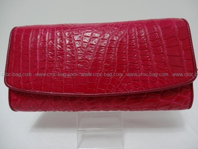 กระเป๋าสตางค์หนังจระเข้สำหรับคุณผู้หญิง 1356