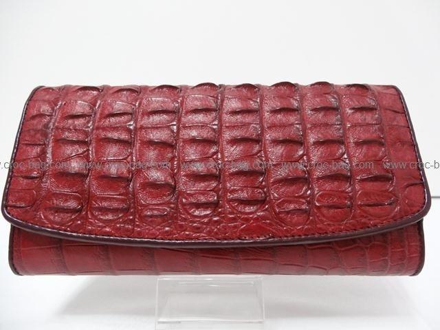 กระเป๋าสตางค์หนังจระเข้สำหรับคุณผู้หญิง 022в