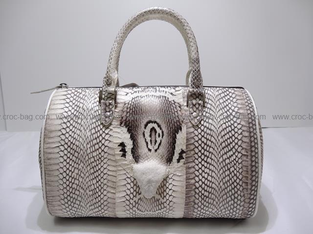กระเป๋าถือหนังงูเห่า 191а