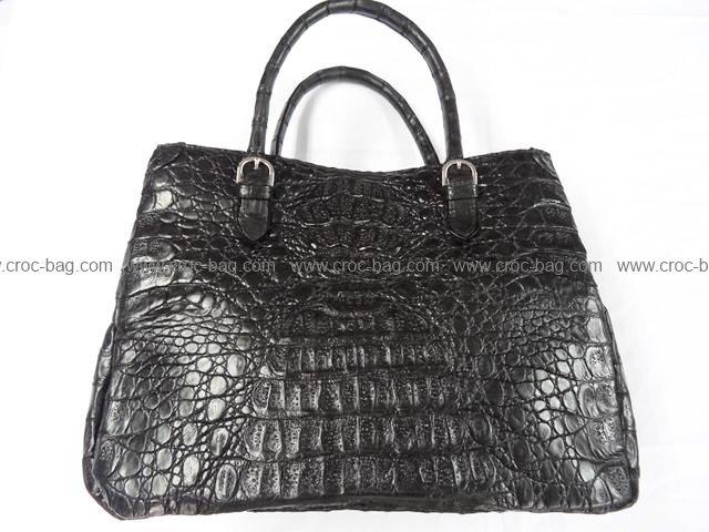 กระเป๋าถือหนังจระเข้สำหรับคุณผู้หญิง  769