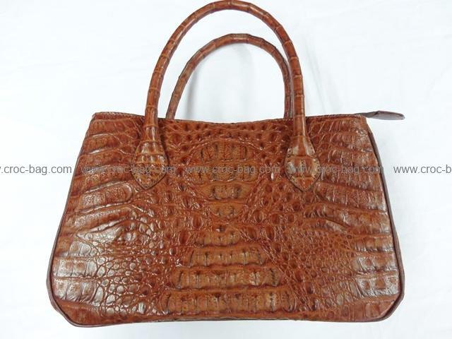 กระเป๋าถือหนังจระเข้สำหรับคุณผู้หญิง 772