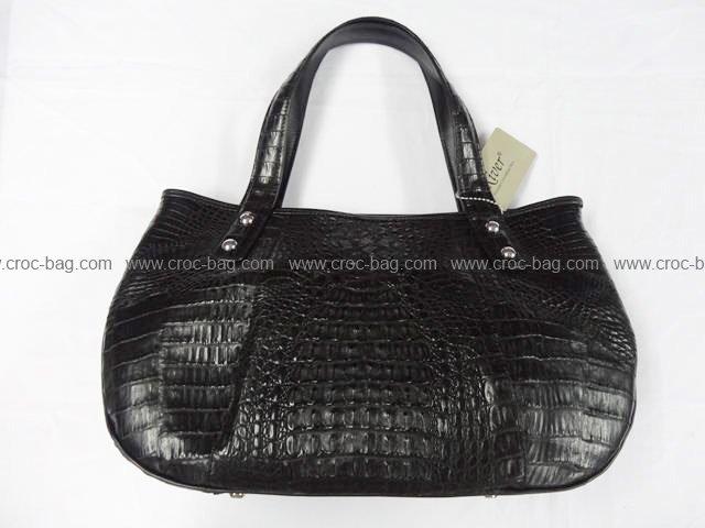 กระเป๋าถือหนังจระเข้สำหรับคุณผู้หญิง 773