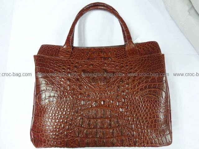 กระเป๋าถือหนังจระเข้สำหรับคุณผู้หญิง 776