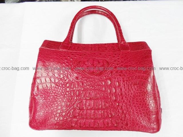 กระเป๋าถือหนังจระเข้สำหรับคุณผู้หญิง 778