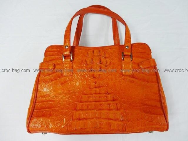 กระเป๋าถือหนังจระเข้สำหรับคุณผู้หญิง 790