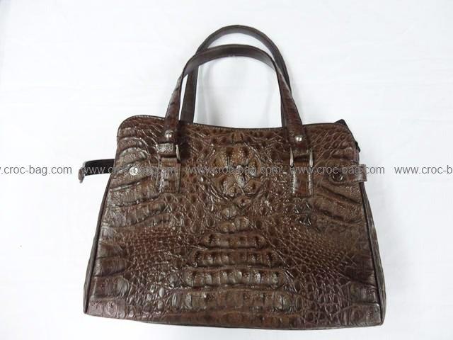 กระเป๋าถือหนังจระเข้สำหรับคุณผู้หญิง 792