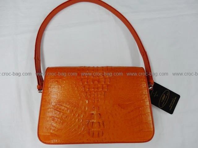 กระเป๋าถือหนังจระเข้สำหรับคุณผู้หญิง 798
