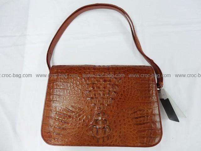 กระเป๋าถือหนังจระเข้สำหรับคุณผู้หญิง 801
