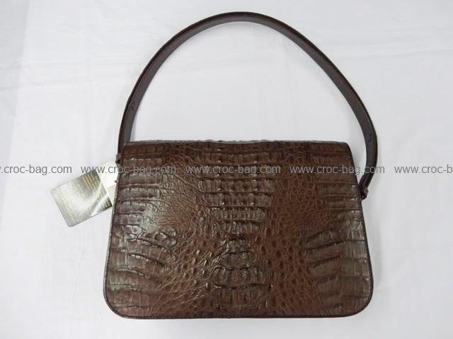 กระเป๋าถือหนังจระเข้สำหรับคุณผู้หญิง 802