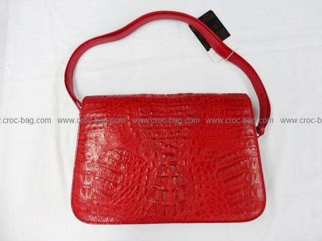 กระเป๋าถือหนังจระเข้สำหรับคุณผู้หญิง 803
