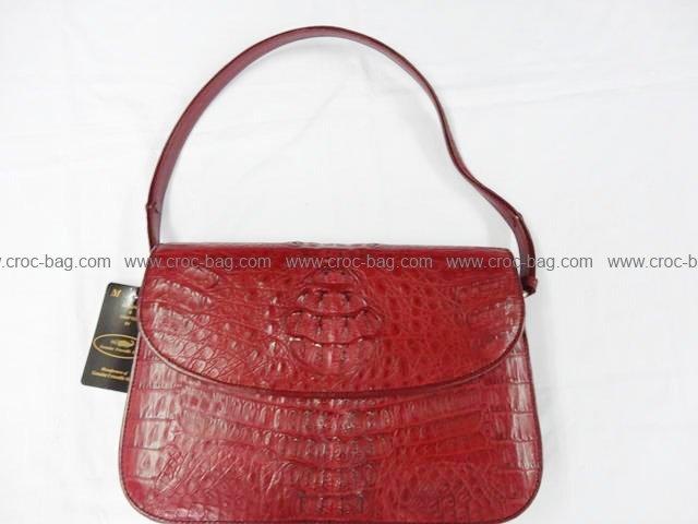 กระเป๋าถือหนังจระเข้สำหรับคุณผู้หญิง 808