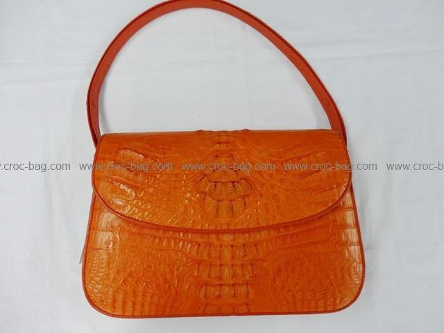 กระเป๋าถือหนังจระเข้สำหรับคุณผู้หญิง 811
