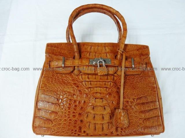 กระเป๋าถือหนังจระเข้สำหรับคุณผู้หญิง 815