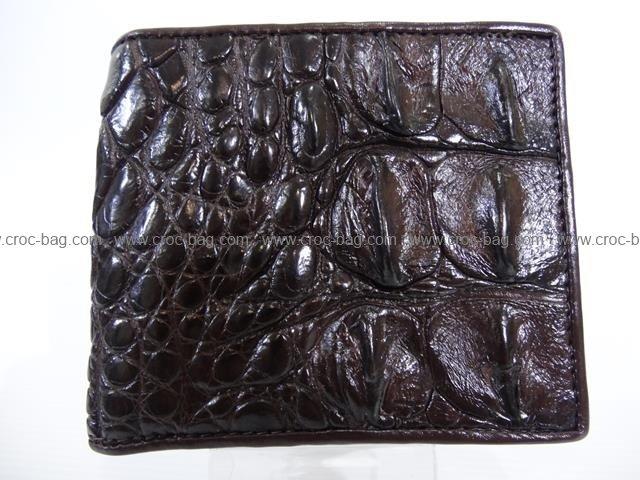 กระเป๋าสตางค์หนังจระเข้สำหรับผู้ชาย065в