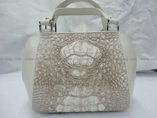 กระเป๋าถือหนังจระเข้สำหรับคุณผู้หญิง 426b