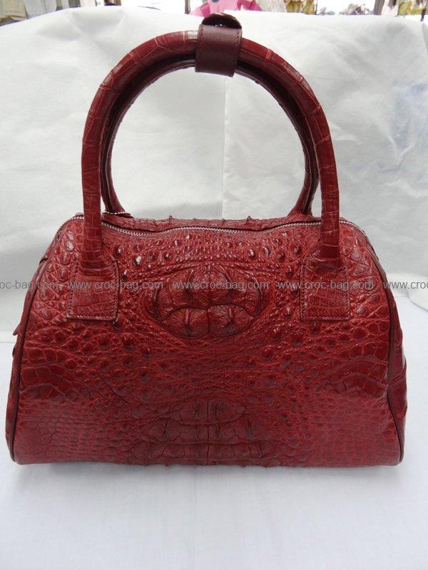 กระเป๋าถือหนังจระเข้สำหรับคุณผู้หญิง 429b