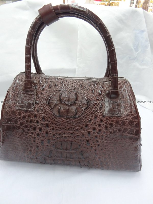 กระเป๋าถือหนังจระเข้สำหรับคุณผู้หญิง 430b